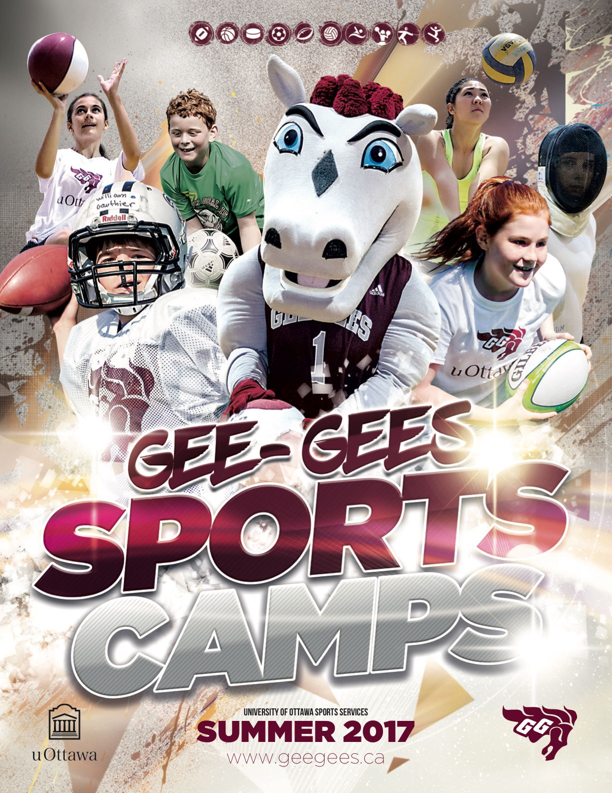 Junior Gee-Gees with Introduction to Sports