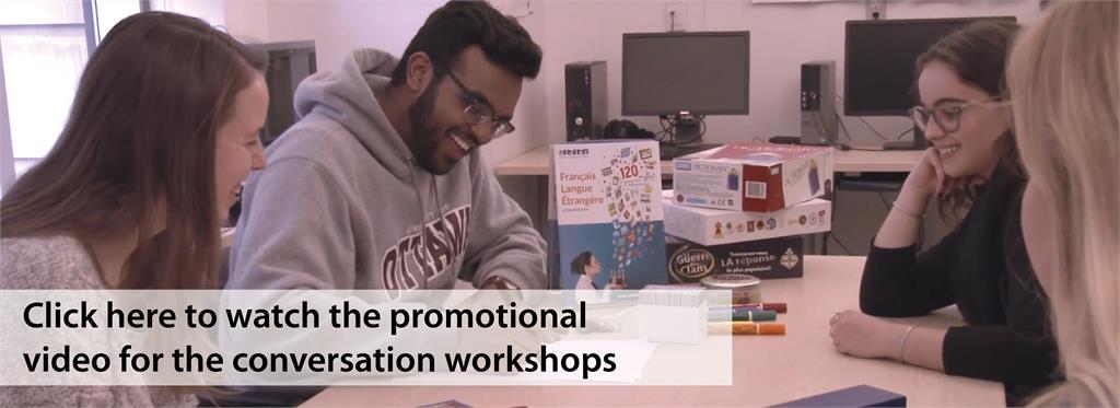 Conversation workshops