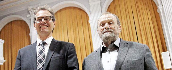 Jérémie Séror and Raymond Leblanc