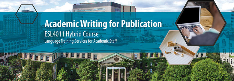 Academic Writing for Publication - ESL 4011