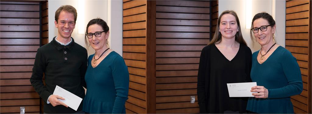 Lucas Cherkewski and Hannah Cummings