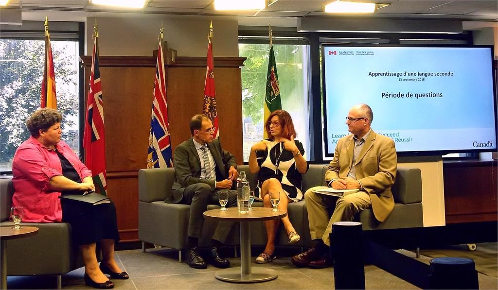 Dr. Jezak particpated in the Public Service of Canada's Linguistics Duality Day