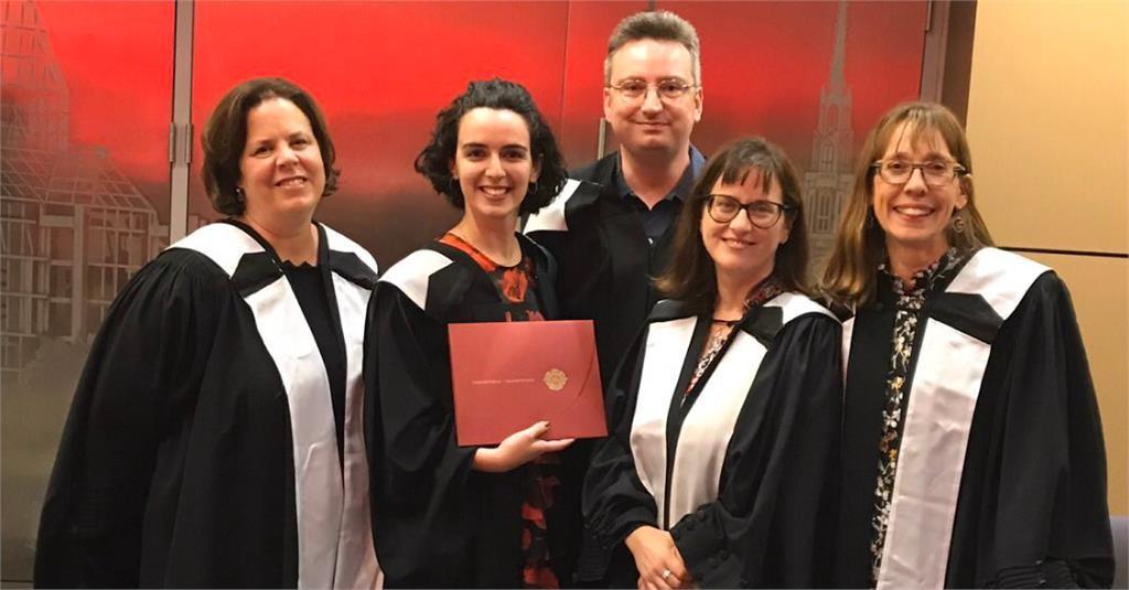 Graduation of Master's students