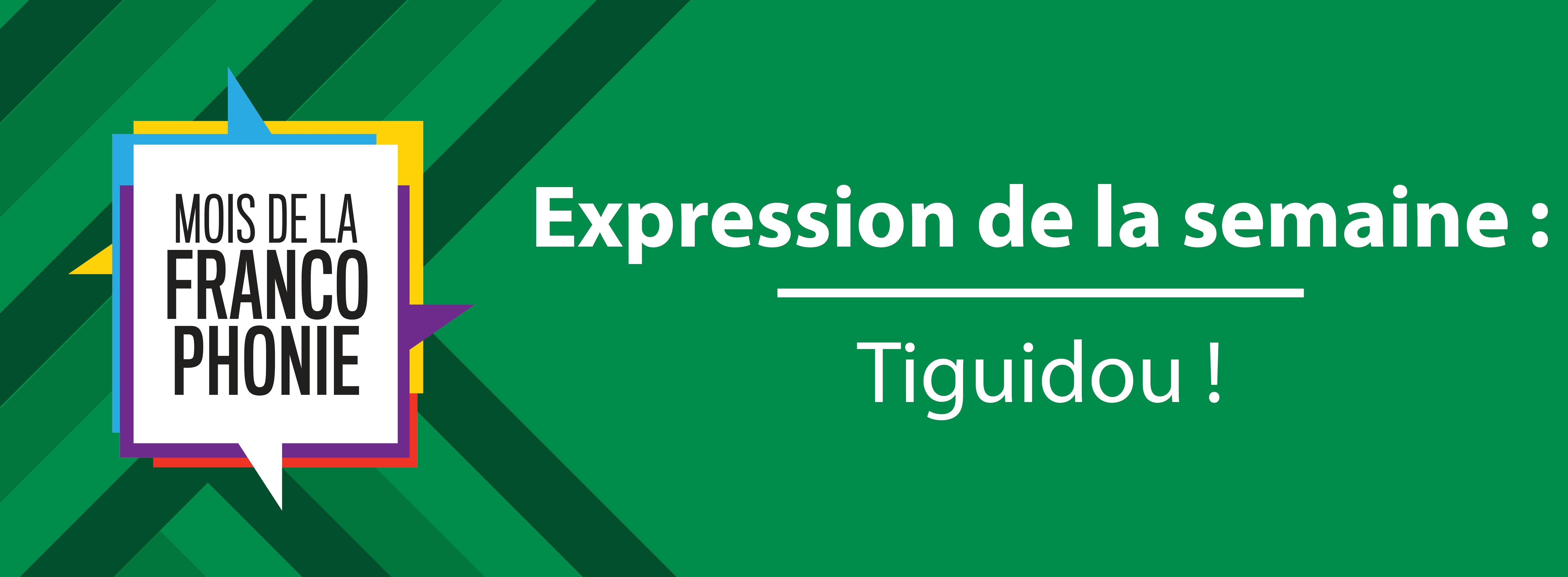 Mois de la francophonie : Tiguidou