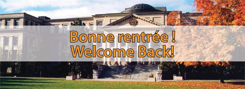 Bonne rentrée !